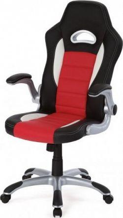 Autronic Kancelářská židle KA-N240 RED - červeno-černá