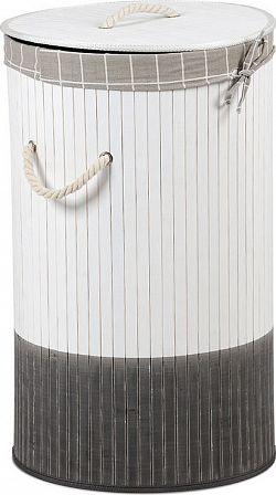 Autronic Koš na prádlo z bambusu KD4404