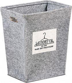 Autronic Koš na prádlo z plsti KD4421