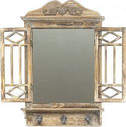 Autronic Zrcadlo v dřevěném rámu LD-0272