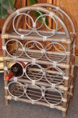 Axin Trading Ratanový stojánek na víno