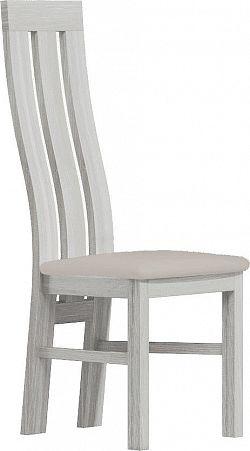 Casarredo Čalouněná židle II bílá/Victoria 20