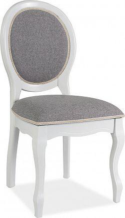 Casarredo Jídelní čalouněná židle FN-SC bílá