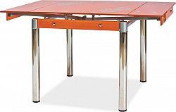 Casarredo Jídelní stůl GD-082 rozkládací oranžový