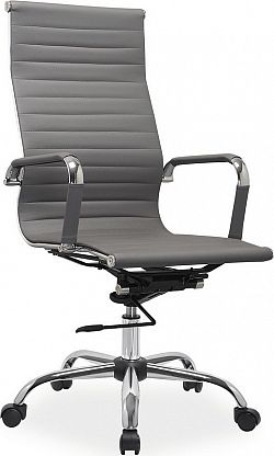 Casarredo Kancelářská židle Q-040 eko šedá