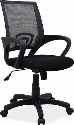 Casarredo Kancelářská židle Q-148 černá