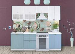 Casarredo Kuchyně PROVENCE /180 bílá/světle modrá
