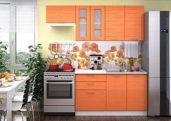 Casarredo Kuchyně TECHNO 200 oranžová metalic