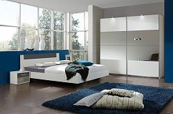 Casarredo Ložnicová sestava ILONA 791+293+698 bílá/grafit