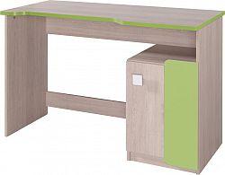 Casarredo Pracovní stůl DUO D6 santana/zelená