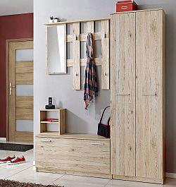 Casarredo Předsíňová stěna RENO ( věšák, botník, zrcadlo, skříň )
