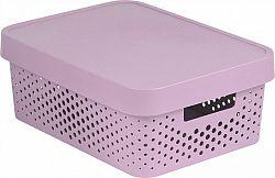 Curver Box INFINITY DOTS 11L - růžový