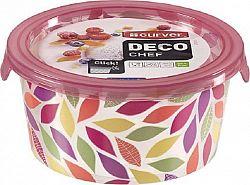 Curver Dóza DECO CHEF 0,5L - květy