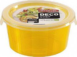 Curver Dóza DECO CHEF 0,5L - oranžová
