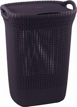 Curver Koš na prádlo KNIT 57L - fialový