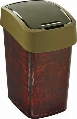 Curver Odpadkový koš FLIPBIN 25L - LEATHER