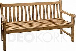 Deokork Zahradní lavice teak ROMA  cm