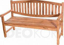 Deokork Zahradní teaková lavice BLADE  cm