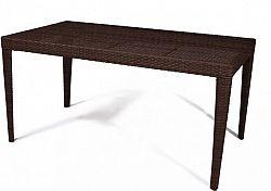 Dimenza Zahradní jídelní stůl Dallas 150x - hnědý