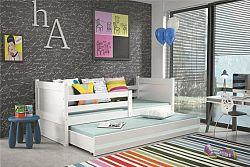 Falco Dětská postel Riky II  - bílá