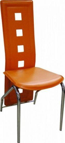Falco Jídelní židle F-131- oranžová