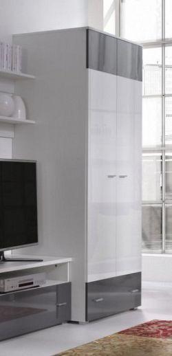 Falco Skříň Wendigo R1 - bílá/lesk grafit,bílá