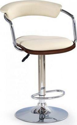 Halmar Barová židle H-19 Ořech/černá