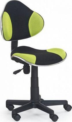 Halmar Dětská židle Flash Červeno-černá
