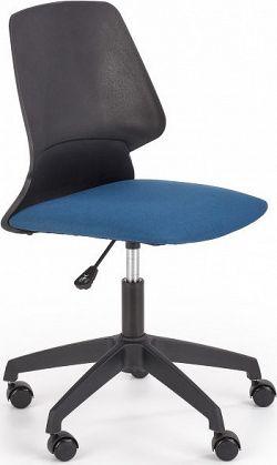 Halmar Dětská židle GRAVITY - černá/modrá