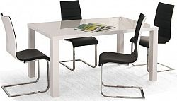 Halmar Jídelní stůl Ronald Bílý 160-200x90 cm