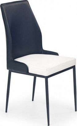 Halmar Jídelní židle K199 Černá/limetková