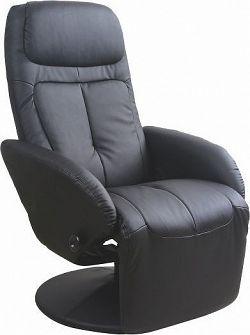 Halmar Relaxační křeslo Optima Černé
