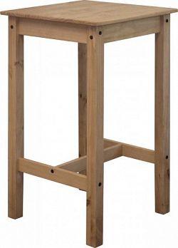 Idea Barový stůl CORONA 2 vosk 16118