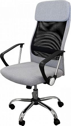 Idea Kancelářské křeslo BOSS šedé