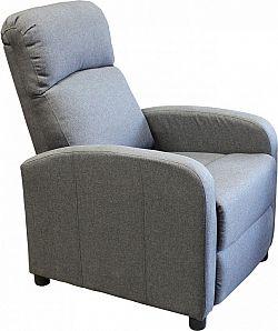 Idea Relaxační křeslo SAM šedé