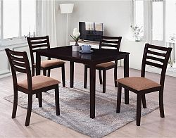 Idea Stůl + 4 židle BARCELONA lak třešeň