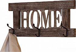 Idea Věšák HOME hnědý antik
