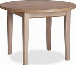 MIKO Jídelní stůl Max 2 rozkládací - pr. 105 + 35 cm