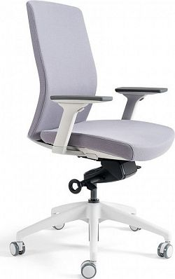 Office Pro Kancelářská židle J2 WHITE BP - šedá 206