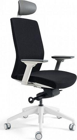 Office Pro Kancelářská židle J2 WHITE SP - černá 201