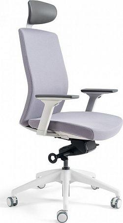 Office Pro Kancelářská židle J2 WHITE SP - šedá 206