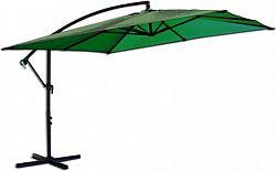 Rojaplast Slunečník kovový 8080 - 270cm - zelený
