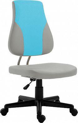 Tempo Kondela Dětská rostoucí židle RANDAL - šedá / modrá + kupón KONDELA10 na okamžitou slevu 3% (kupón uplatníte v košíku)