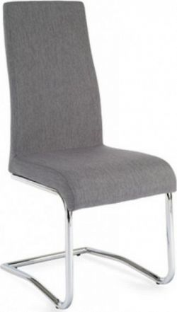 Tempo Kondela Jídelní židle AMINA - světle šedá + kupón KONDELA10 na okamžitou slevu 10% (kupón uplatníte v košíku)