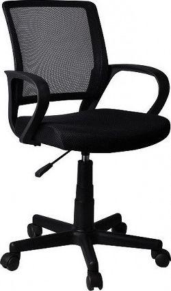 Tempo Kondela Kancelářská židle ADRA - černá + kupón KONDELA10 na okamžitou slevu 10% (kupón uplatníte v košíku)