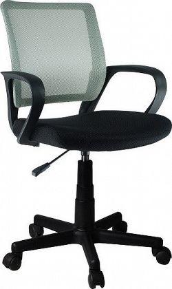 Tempo Kondela Kancelářská židle ADRA - šedá + kupón KONDELA10 na okamžitou slevu 10% (kupón uplatníte v košíku)