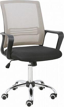 Tempo Kondela Kancelářská židle APOLO - šedohnědá Taupe/ + kupón KONDELA10 na okamžitou slevu 3% (kupón uplatníte v košíku)