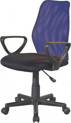 Tempo Kondela Kancelářská židle BST 2010 - modrá + kupón KONDELA10 na okamžitou slevu 3% (kupón uplatníte v košíku)