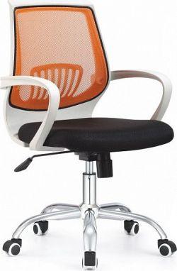 Tempo Kondela Kancelářská židle LANCELOT oranžová + kupón KONDELA10 na okamžitou slevu 10% (kupón uplatníte v košíku)