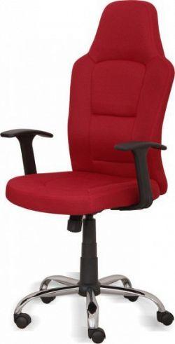 Tempo Kondela Kancelářská židle VAN - červená + kupón KONDELA10 na okamžitou slevu 10% (kupón uplatníte v košíku)